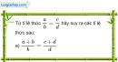 Bài 134 trang 33 SBT toán 7 tập 1