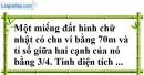 Bài 135 trang 33 SBT toán 7 tập 1