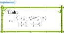 Bài 138 trang 33 SBT toán 7 tập 1