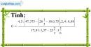 Bài 139 trang 34 SBT toán 7 tập 1