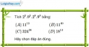 Bài  I.1, I.2, I.3, I.4 phần bài tập bổ sung trang 34 SBT toán 7 tập 1