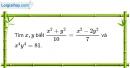 Bài I.5, I.6, I.7 phần bài tập bổ sung trang 34, 35 SBT toán 7 tập 1