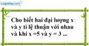 Bài 1 trang 65 SBT toán 7 tập 1