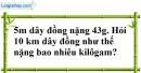 Bài 9 trang 66 SBT toán 7 tập 1