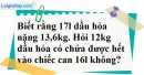Bài 11 trang 66 SBT toán 7 tập 1