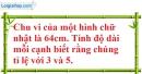 Bài 12 trang 67 SBT toán 7 tập 1