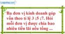 Bài 13 trang 67 SBT toán 7 tập 1