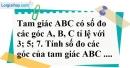 Bài 15 trang 67 SBT toán 7 tập 1