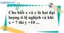 Bài 19 trang 68 SBT toán 7 tập 1
