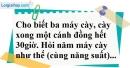 Bài 21 trang 69 SBT toán 7 tập 1