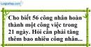 Bài 23 trang 69 SBT toán 7 tập 1