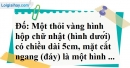 Bài 24 trang 69 SBT toán 7 tập 1