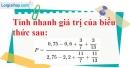 Bài 17 trang 10 SBT toán 7 tập 1
