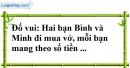 Bài 33 trang 71 SBT toán 7 tập 1