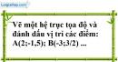 Bài 45 trang 74 SBT toán 7 tập 1