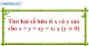 Bài 21 trang 11 SBT toán 7 tập 1