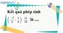 Bài 3.1, 3.2, 3.3, 3.4, 3.5 phần bài tập bổ sung trang 11 SBT toán 7 tập 1