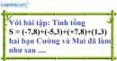 Bài 26 trang 12 SBT toán 7 tập 1