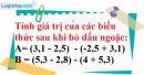 Bài 28 trang 12 SBT toán 7 tập 1
