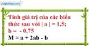 Bài 29 trang 13 SBT toán 7 tập 1