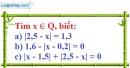 Bài 31 trang 13 SBT toán 7 tập 1
