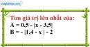 Bài 32 trang 13 SBT toán 7 tập 1