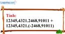 Bài 35 trang 13 SBT toán 7 tập 1
