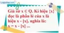 Bài 38 trang 14 SBT toán 7 tập 1