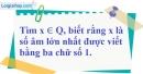 Bài 7 trang 6 SBT toán 7 tập 1