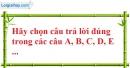 Bài 55 trang 17 SBT toán 7 tập 1