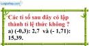 Bài 62 trang 19 SBT toán 7 tập 1