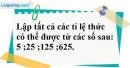 Bài 66 trang 20 SBT toán 7 tập 1