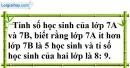 Bài 77 trang 22 SBT toán 7 tập 1