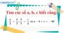 Bài 81 trang 22 SBT toán 7 tập 1