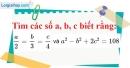 Bài 82 trang 22 SBT toán 7 tập 1