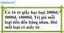 Bài 83 trang 22 SBT toán 7 tập 1
