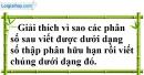 Bài 85 trang 23 SBT toán 7 tập 1