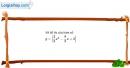 Bài 2.30 trang 43 SBT đại số 10