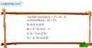 Bài 2.32 trang 43 SBT đại số 10