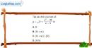 Bài 2.33 trang 43 SBT đại số 10