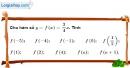 Bài 3 trang 60 SBT toán 9 tập 1