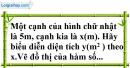 Bài 57 trang 79 SBT toán 7 tập 1