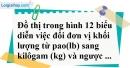 Bài 58 trang 80 SBT toán 7 tập 1