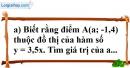 Bài 61 trang 81 SBT toán 7 tập 1