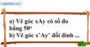 Bài 3 trang 100 SBT toán 7 tập 1