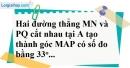 Bài 6 trang 100 SBT toán 7 tập 1
