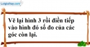 Bài 17 trang 104 SBT toán 7 tập 1