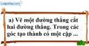 Bài 18 trang 104 SBT toán 7 tập 1