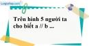 Bài 20 trang 105 SBT toán 7 tập 1