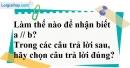 Bài 23 trang 106 SBT toán 7 tập 1